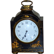 Pagoda-Shaped Mantel Clock with French Movement and Chinoiserie Decoration
