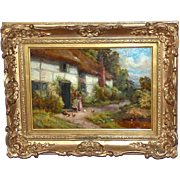 """At the Cottage Door,"" by Robert J. Hammond"