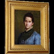 Portrait of a Lady, by Alice E. Donkin