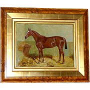Portrait of a Horse in a Stall, by George Paice