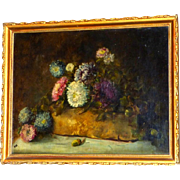 Early 20th Century Still Life of Flowers