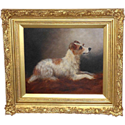 Portrait of a Terrier, by George Earl