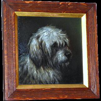 Portrait of a Terrier, by E. Aistrup
