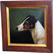 Portrait of a Jack Russell Terrier, by E. Aistrup
