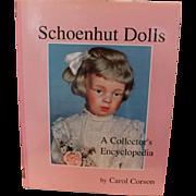 Great hard cover Schoenhut Book on Schoenhut wood, wooden dolls! Good condition, full of information regarding Schoenhut Antique Dolls!