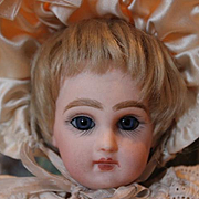 """Rare and hard to find, 9 3/4"""" tall French Antique French  Tete Jumeau #1 doll!!"""