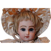 "Rare and hard to find, 9 3/4"" tall French Antique French  Tete Jumeau #1 doll!!"