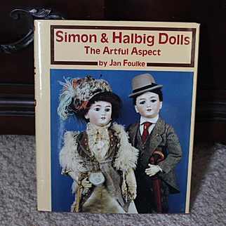 Great Doll Reference Hard Cover Book on German Antique Simon & Halbig dolls!