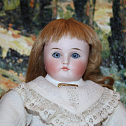 Reduced Price!!  Kestner Antique doll, mold number 128, 13 inches tall, 8 ball jointed body, adorable round face