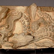 Ancient Chinese Ceramic Tile, Han Dynasty