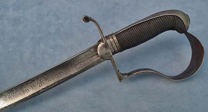 Antique Hungarian Presentation Sword, Sabre from the Hungarian Revolution 1848