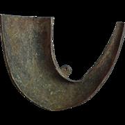 Antique Russian Gun Powder Flask 17th century Enamel Bronze