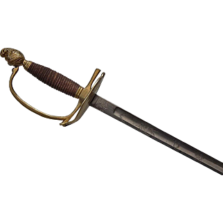 Antique Early 19th c French Napoleonic Line Infantry Officer's Sword Epee