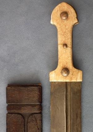 Antique Russian sword Cossack Caucasian Kindjal 19th century