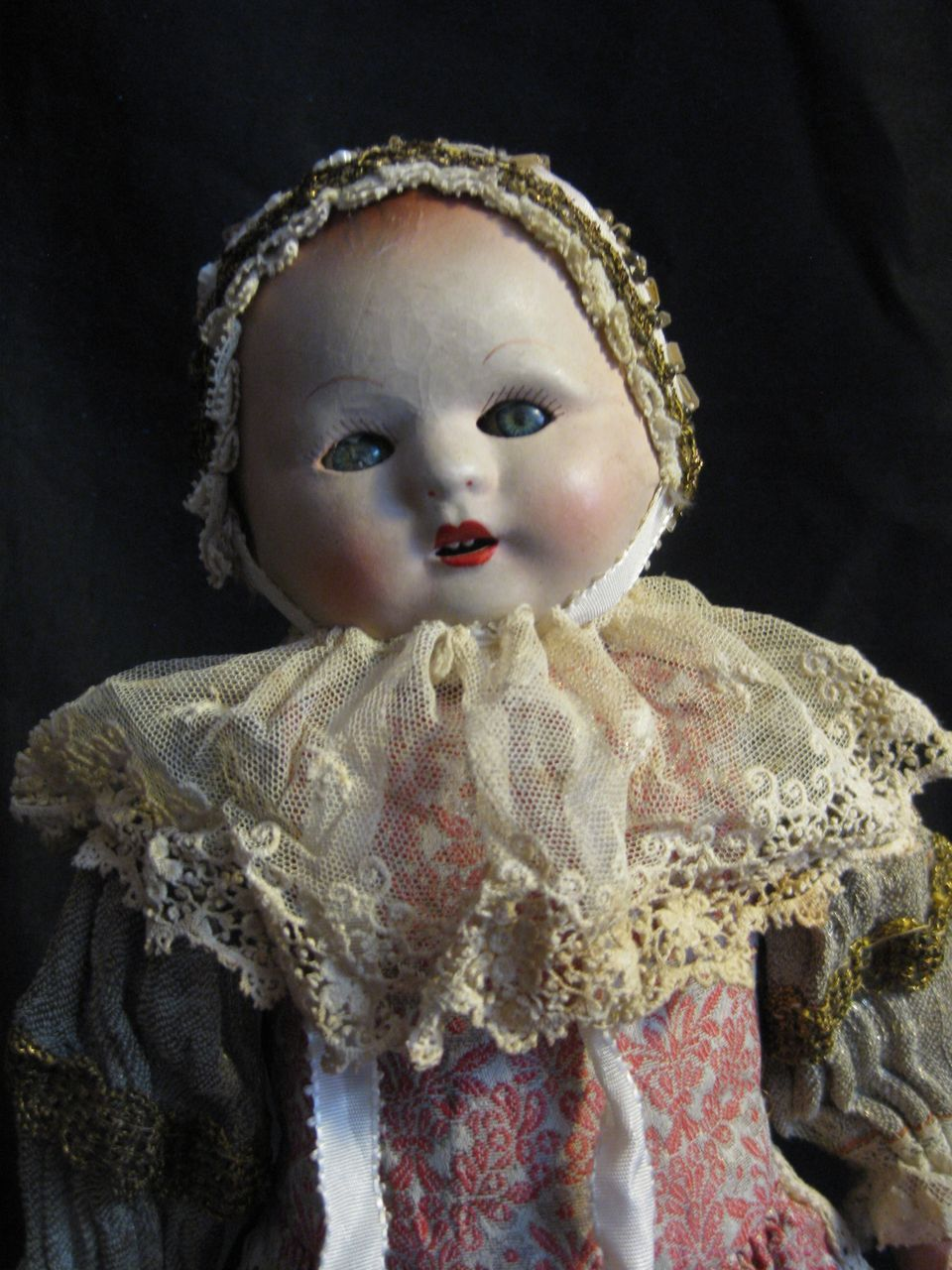 """So cute! 16""""  little lady in all hand sewn original clothes!"""