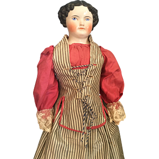 Early ABG doll on fantastic original body with Kintzbach hands