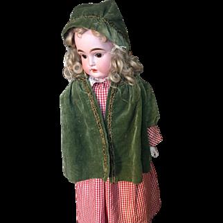 Cute antique velvet coat and hat