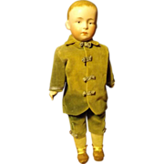 Heubach pouty boy doll  all original