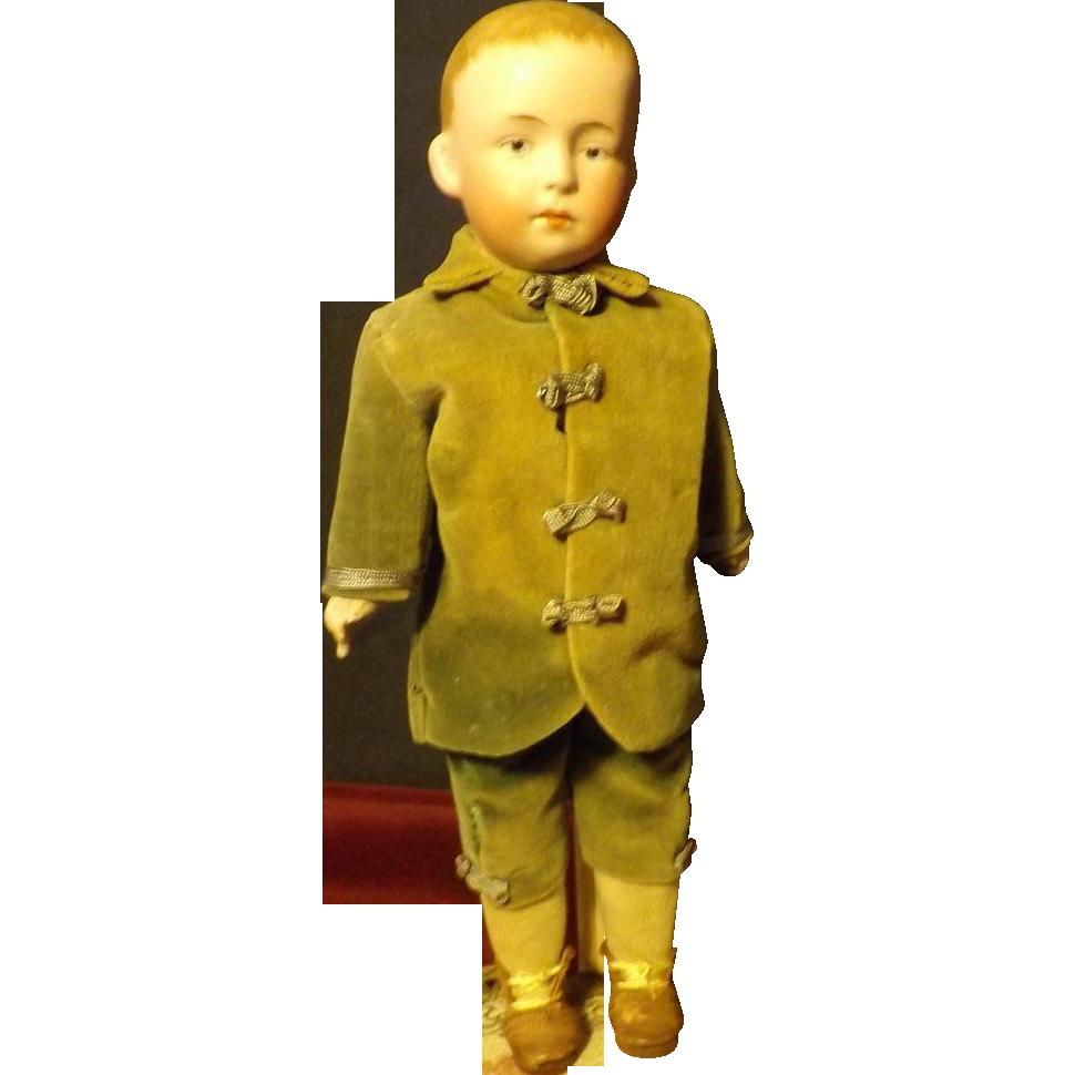 Heubach pouty boy doll  all original