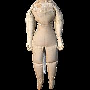 """Magnificent 20"""" antique body for Grenier Paper Mache"""