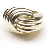 High-Rise Ribbed Ring, c. 1985