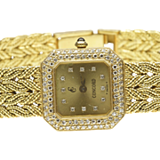 Women's 18-Karat Yellow Gold Concord Quartz Wrist Watch, C.. 1980