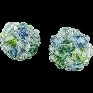 Copolla e Toppo Blue & Aqua Earrings