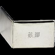 Birks sterling silver Cigarette Case