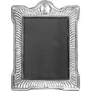 Modernist English Sheffield picture or photo desk Frame sterling silver