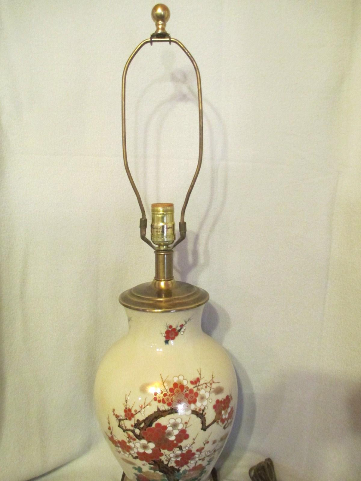 Frederick cooper satsuma large porcelain table lamp mid century roll over large image to magnify click large image to zoom geotapseo Image collections