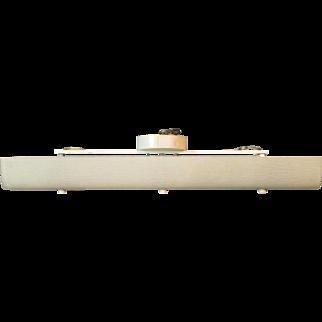 Mid-Century Modern Wall / Ceiling Mount 6 Light Fixture