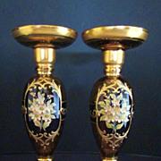 Vase/Candleholder Venetian Hand Blown Crystal