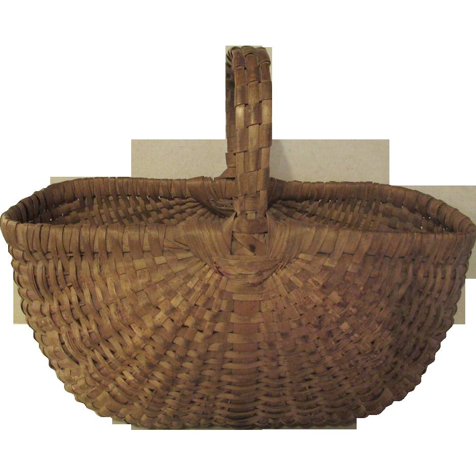 Vintage Woven Basket 110