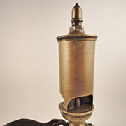 Crosby 1870's Brass 3 Chime Train Steam Whistle