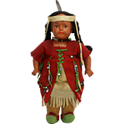 Antique Madame Hendren Native American Indian Doll ca1916