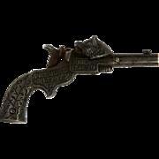 Antique Cast Iron Toy Cap Gun