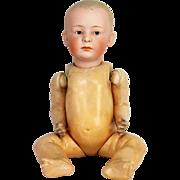 Antique German Unusually Large Heubach Bisque Head Doll ca1910