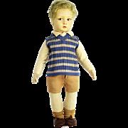 Vintage Lenci Cloth Boy Doll