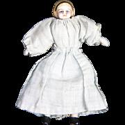 Antique German Miniature Parian Bisque Doll ca1870
