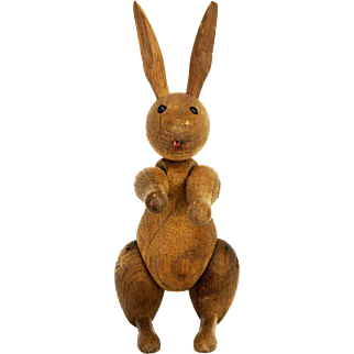 Vintage Kay Bojesen Danish Rabbit by Rosendahl