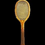 Antique Horsman Tennis Racket ca1915