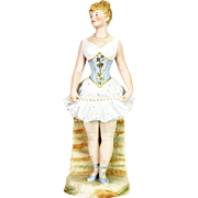 Antique German Large Heubach Ballerina Figurine ca1910