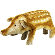 Vintage Steiff Large Wild Boar / Pig ca1950