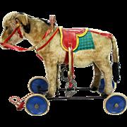 Vintage Steiff Donkey Child's Riding Toy ca1950