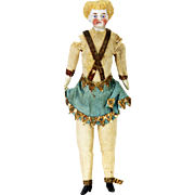 Antique German Miniature Parian Doll ca1880