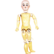 """Antique German Kestner Bisque Head Doll 24"""""""