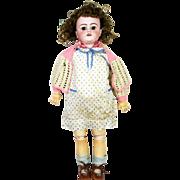 "Antique German Simon & Halbig 1079 Bisque Head Doll 24"""
