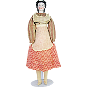 "Antique German China Doll 20"" ca1880"