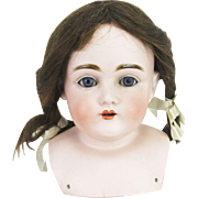 Antique German Bisque Kestner 154 Doll Head