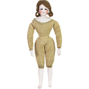 Antique French Fashion Francois Gaultier Bisque Doll with Articulated Gesland Body
